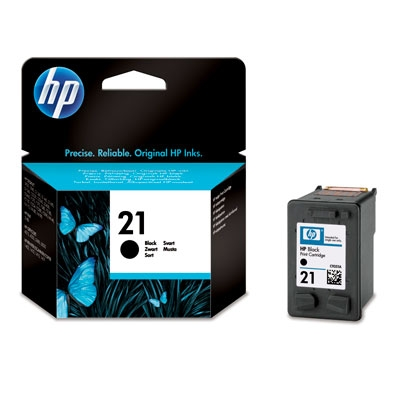 Картридж HP DJ 3920/PSC 1410 (C9351AE) №21 Black, 5 ml