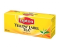 Чай черный в ф/п Lipton Yellow Label, 25 пакетиков