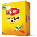 Чай черный в ф/п Lipton Yellow Label, 100 пакетиков
